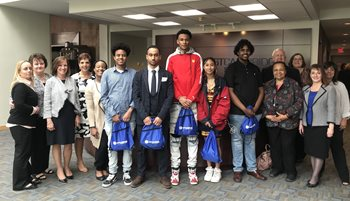 CRLS Students Attend Annual Appreciation Lunch at ECSB