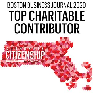 Boston Business Journal Top Charitable Contributors Logo