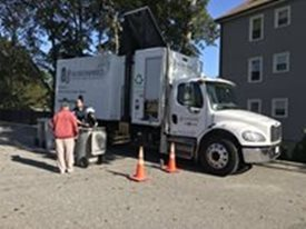 Shred Day at Trapelo Road Banking Center