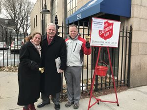 Salvation Army Red Kettle Drive